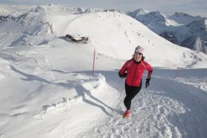 Wintertraining: Laufen im Schnee
