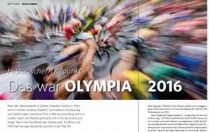 Olympische Sommerspiele Rio de Janeiro 2016