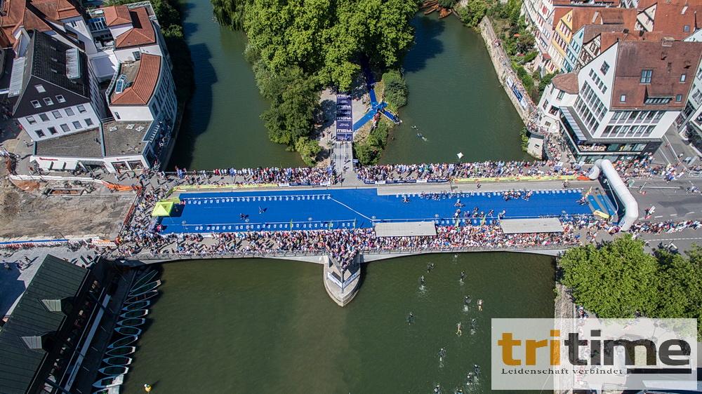 Triathlon in Tübingen