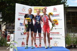 Foto 3, Podest Frauen, podium women