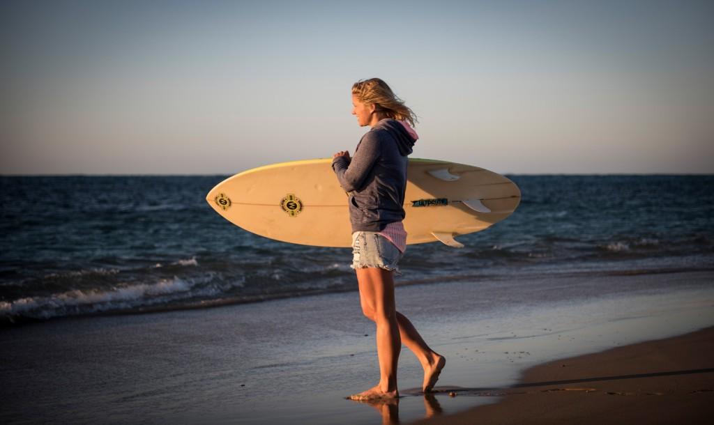 Surfen ist in Australien Nationalsport und darf im Urlaub nicht fehlen ...
