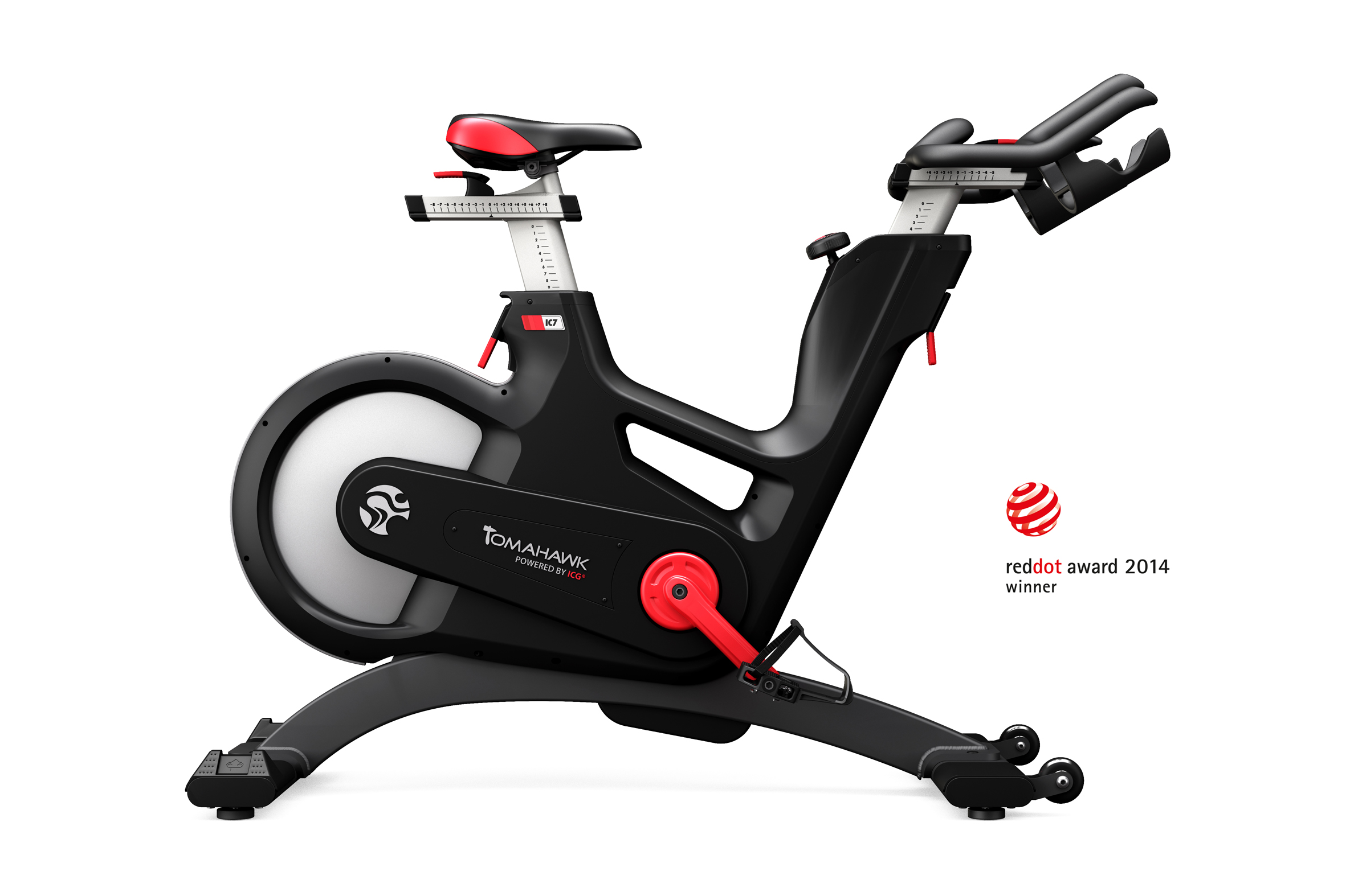 tritime-tested: Das Tomahawk Indoor-Bike IC7 - tritime ...