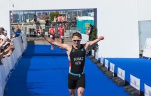 Europameisterschaften im Triathlon 2015, Genf, 10.07.2015, Paratriathlon, ©Joseph Kleindl