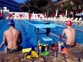 Schwimmen mit Tools