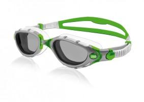 Schwimmbrille_Predator Flex_silver-green-white_20140505