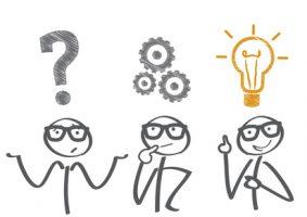 Problemlsung - 3 Phasen - Fragestellung - berlegen - Idee