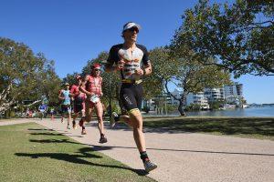 SUNSHINE COAST, AUSTRALIA - SEPTEMBER 04: Sebastian Kienle of Germany competes in the run stage during Ironman 70.3 World Championship on September 4, 2016 in Sunshine Coast, Australia. (Photo by Matt Roberts/Getty Images)
