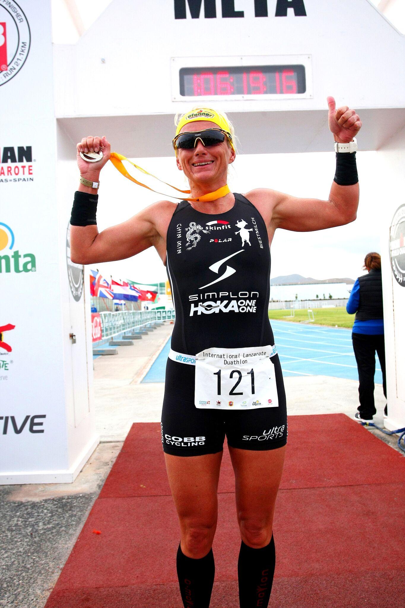 Yvonne van Vlerken_Int. Lanzarote Duathlon 2017