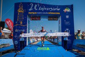 Sieg von Diana Riesler beim Portocolom Triathlon 2017