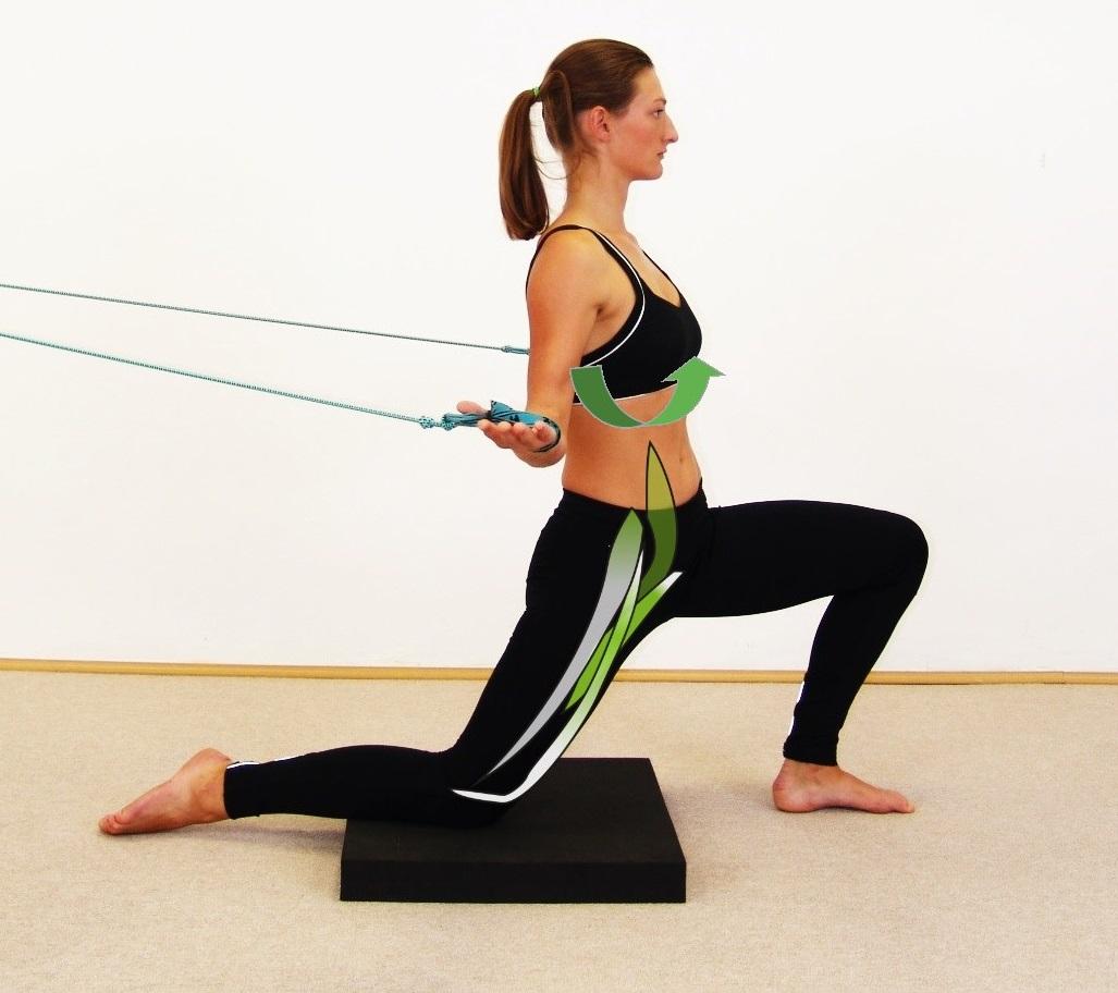 Übung: Hüftbeuger Position 2