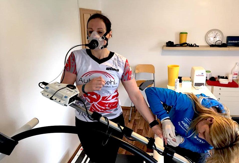 Leistungsdiagnostik auf dem Laufband mit Coach Susanne Buckenlei