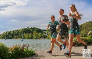 Großes Zoot-Teamtreffen mit Triathlontrainingswochenende am Fuschlsee