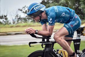 Profitriathlet Andy Raelert beim Ironman Brasilien