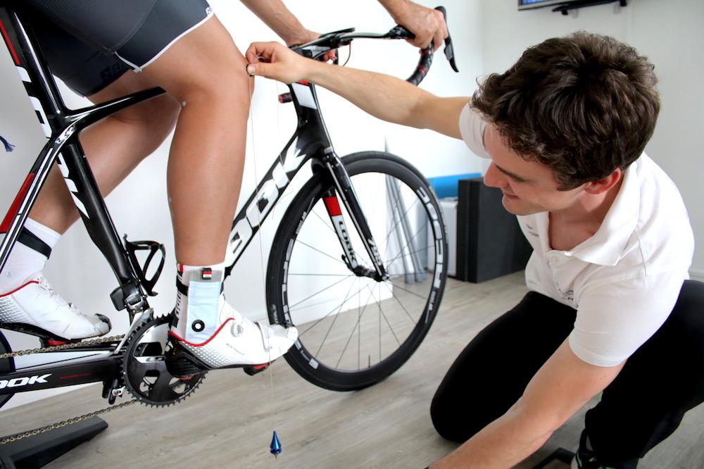 Radvermessung für Sportler