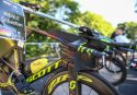 KRAICHGAU, GERMANY - JUNE 11: Bike of Sebastian Kienle of Germany before Ironman 70.3 Kraichgau on June 11, 2017 in Kraichgau, Germany. (Photo by Joern Pollex/Getty Images)
