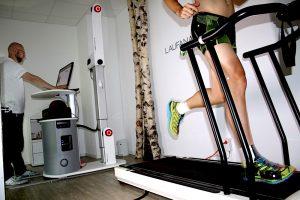 Bewegungsanalyse auf dem Laufband