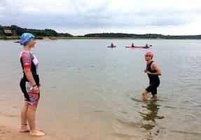 Die Schwimmangst beim Rothsee-Triathlon besiegt