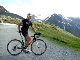 Profitriathlet Andi Böcherer beim Trainingscamp in der Schweiz