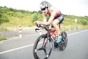 Der Belgier Bart Aernouts auf dem Rad