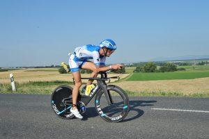 Michael Raelert beim Ironman Frankfurt 2017 auf dem Rad