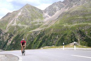 die Radstrecke der Challenge Davos