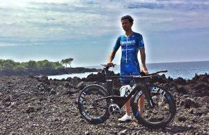 Profi-Triathlet Andy Raelert auf Hawaii