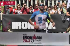 Johannes Moldan gewinnt beim Ironman 70.3 Otepää 2017