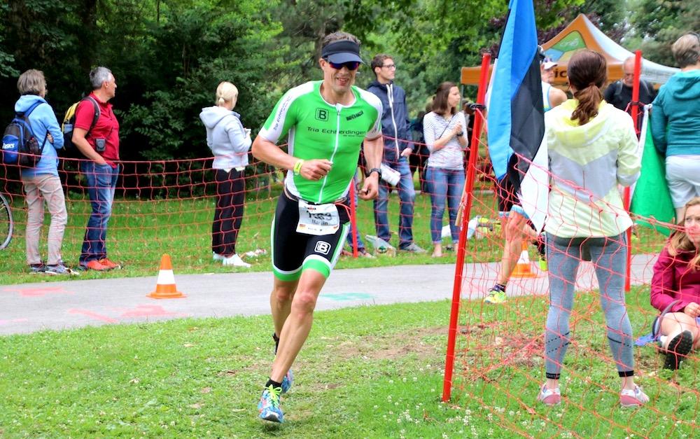 Ex-Laufprofi Martin Beckmann bei seinem ersten Ironman in Klagenfurt