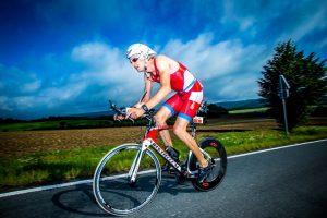 Simon Schwaz, der Sieger des ICAN Triathlon 2017