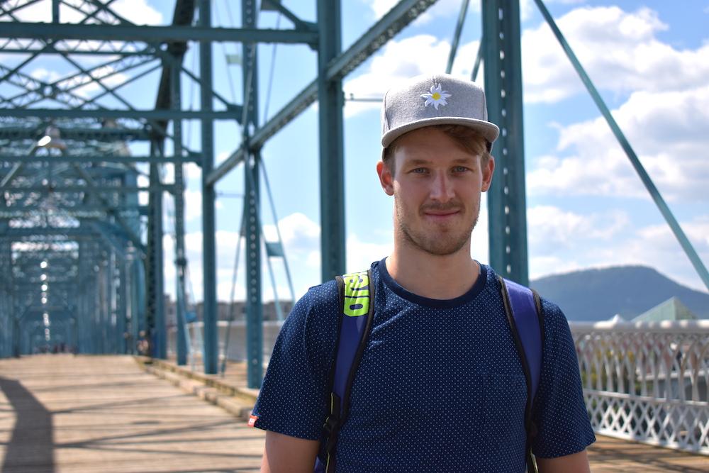 Florian Teichmann ist bei der Ironman 70.3 Weltmeisterschaft in Chattanooga angekommen