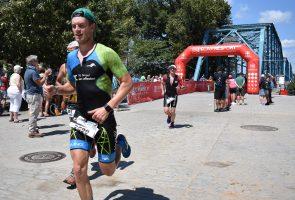 Florian Teichmann beim Ironman 70.3-Weltmeisterschaftsrennen in Chattanooga