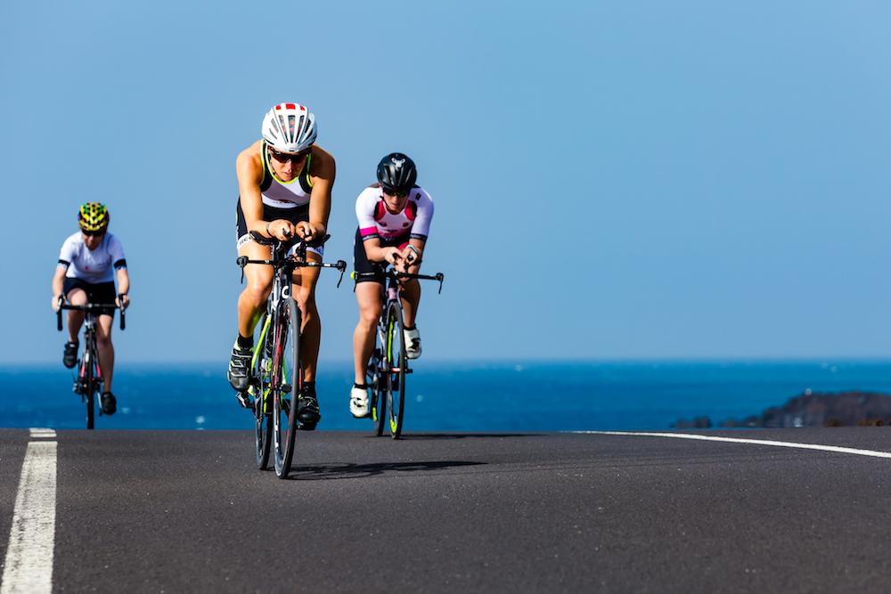 Radtraining im Triathlon-Camp auf Lanzarote