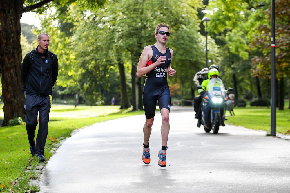 ITU World Triathlon Grand Final Rotterdam 2017, Paratriathlon, Max Gelhaar, GER #325, , Photo: JoKleindl/DTU