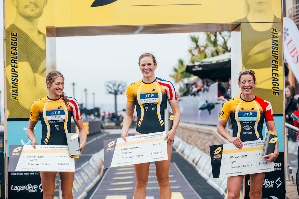 Damen Podium Super League Jersey