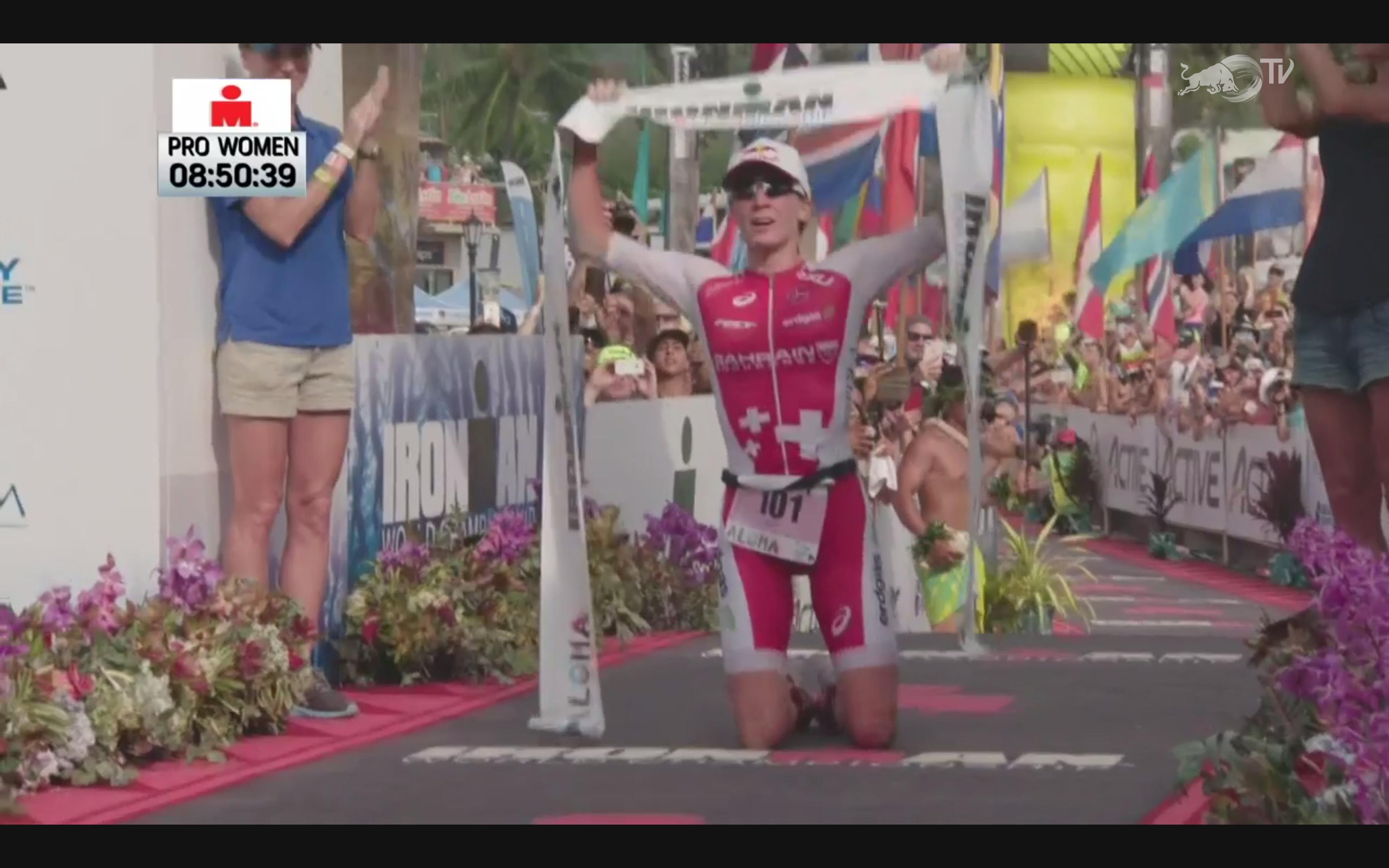 Daniela Ryf gewinnt zum dritten Mal in Folge den Ironman Hawaii