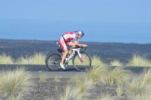 Daniela Ryf auf der Radstrecke beim Ironman Hawaii