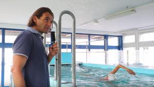 Schwimmanalyse mit Roy Hinnen