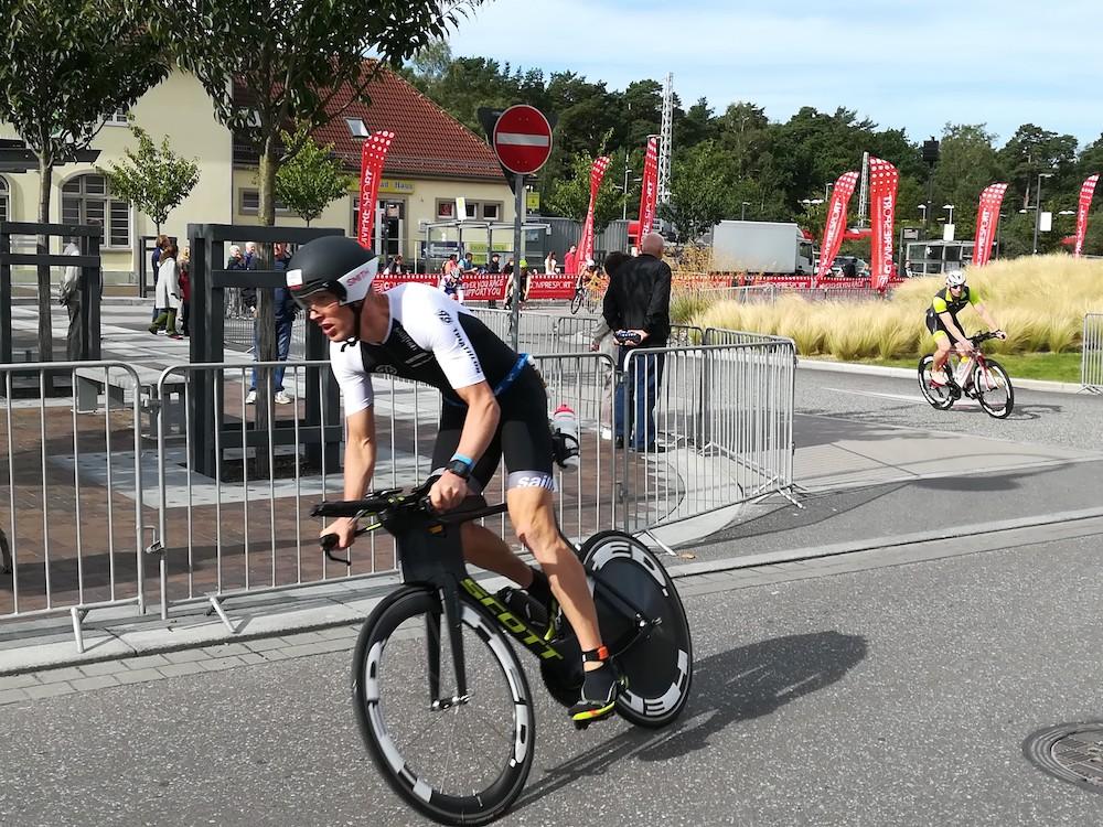 Christian Haupt auf dem Rad