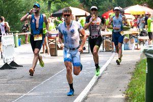 Triathlet Markus Rolli beim Laufen