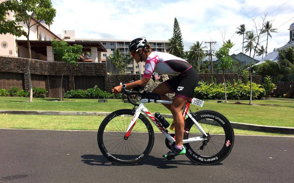 Verena Eisenbarth beim Ironman Hawaii