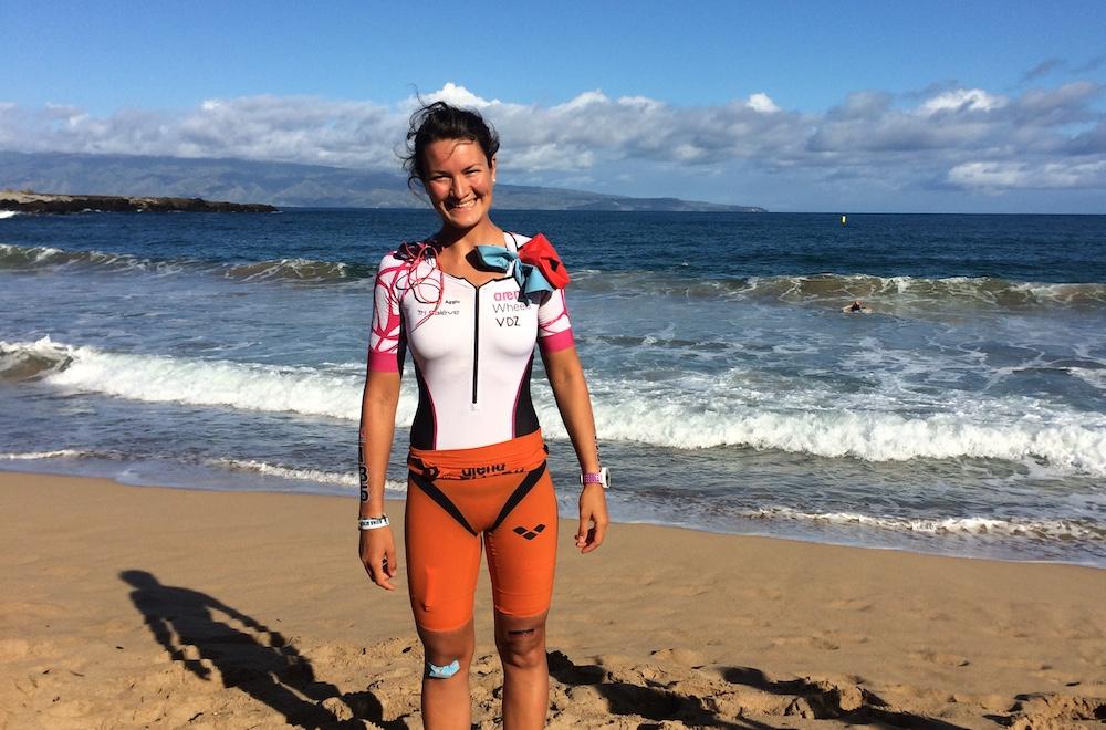 Verena Eisenbarth auf Maui