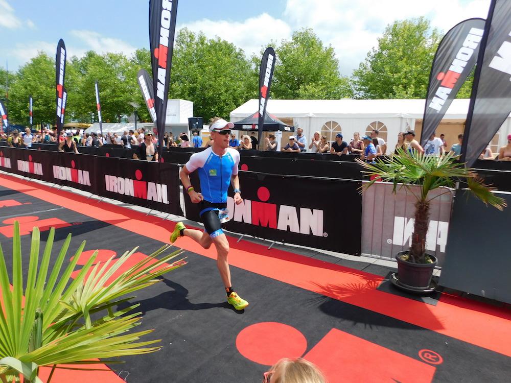 Christian Haupt beim Laufen