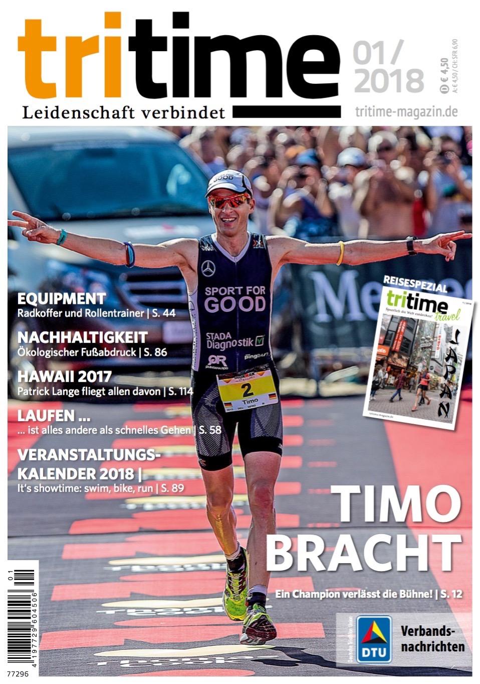 Titelbild tritime #46 |Schwerpunktthema Timo Bracht, Veranstaltungen 2018, Japan
