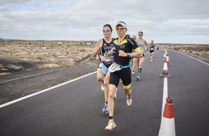 Anne Haug beim Duathlon auf Lanzarote