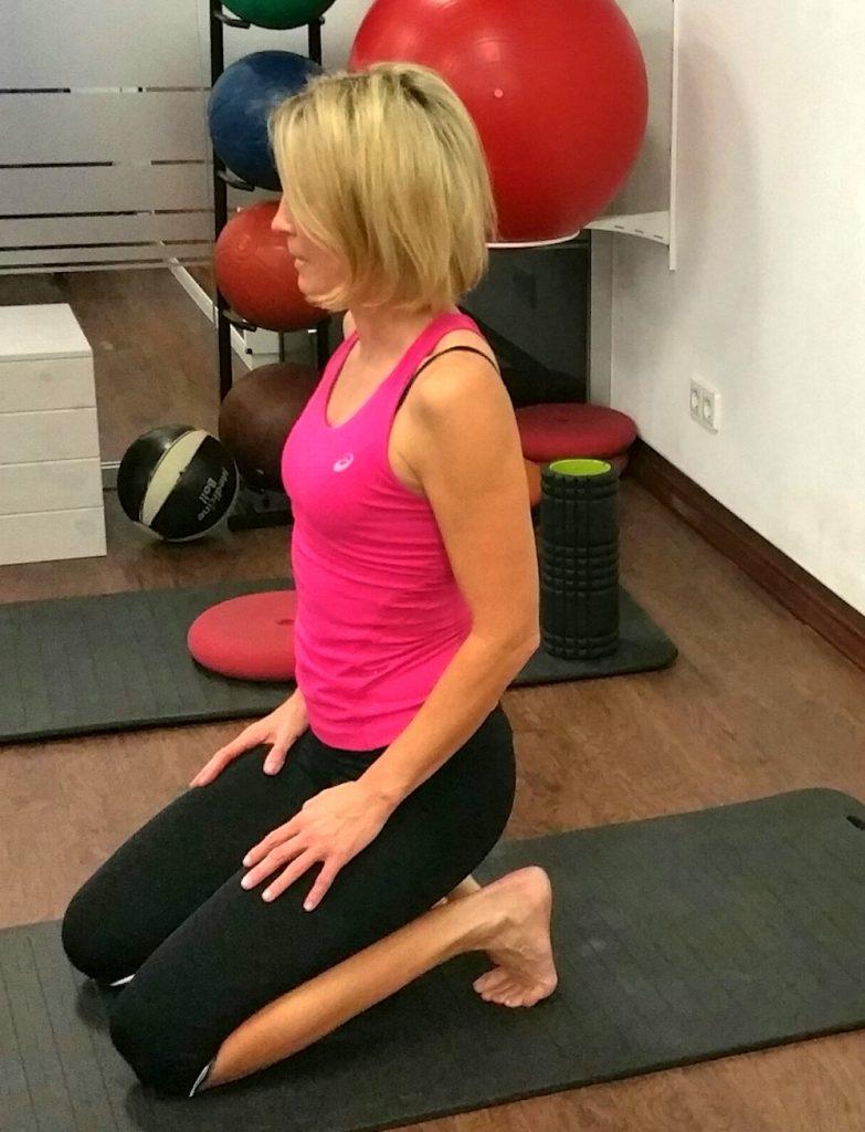 Übung: der Fersensitz
