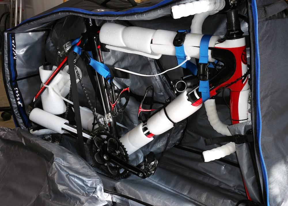 Die Roundtrip Travelle Radtasche von Thule im Test