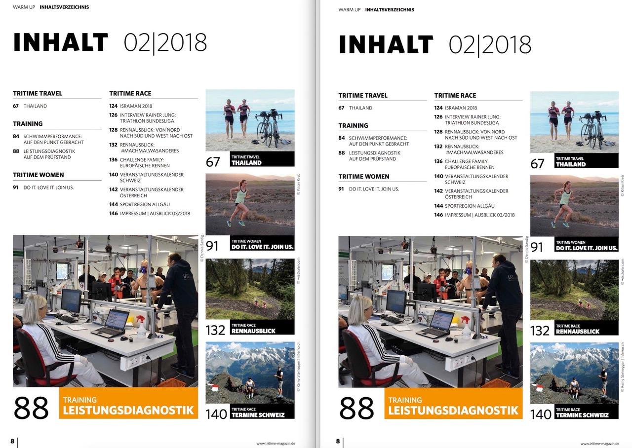 Inhaltsverzeichnis tritime #47 2-2018