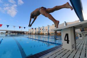 Schwimmtraining mit Schnelligkeitsreizen
