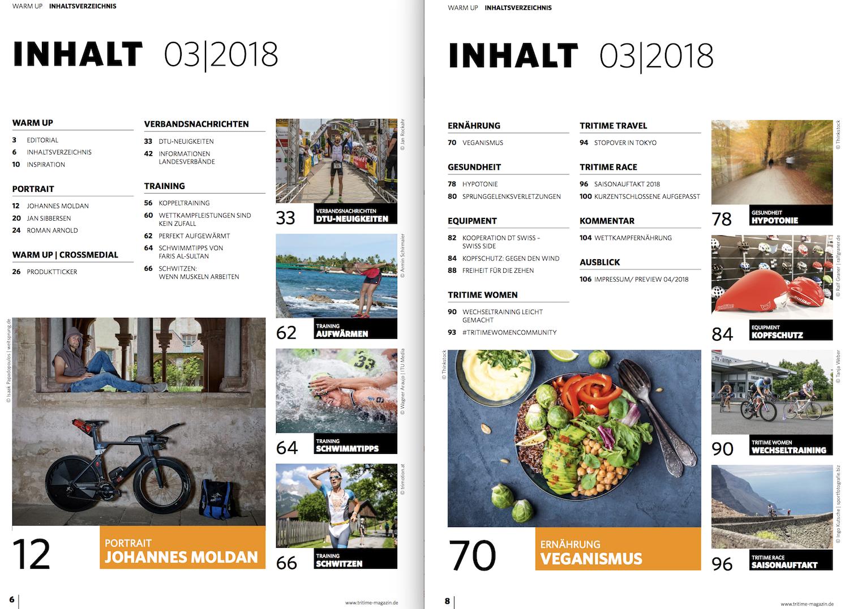Inhaltsverzeichnis tritime #48 3-2018
