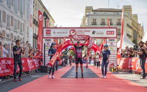 Zieleinlauf Challenge Madrid